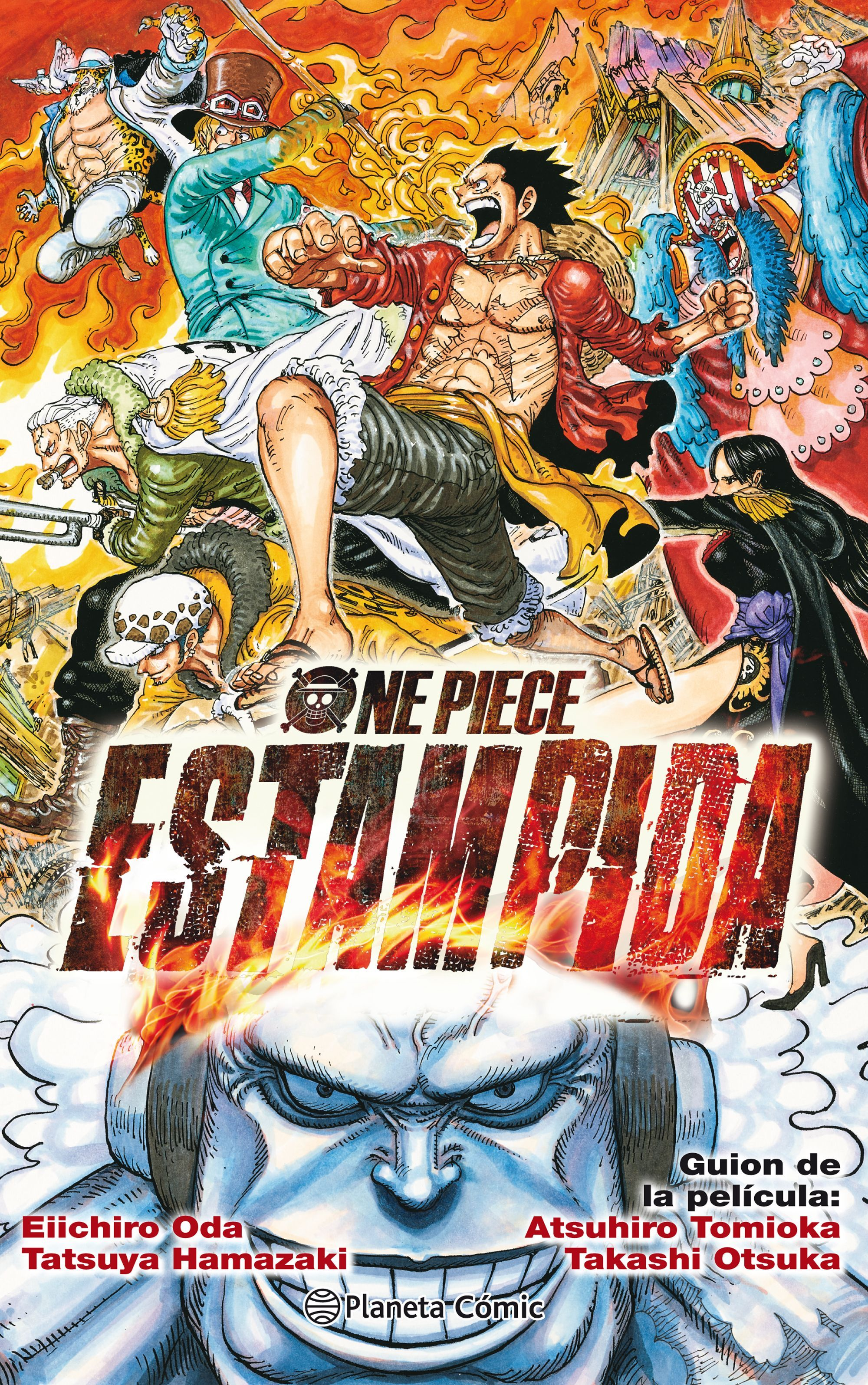 ONE PIECE ESTAMPIDA (NOVELA)