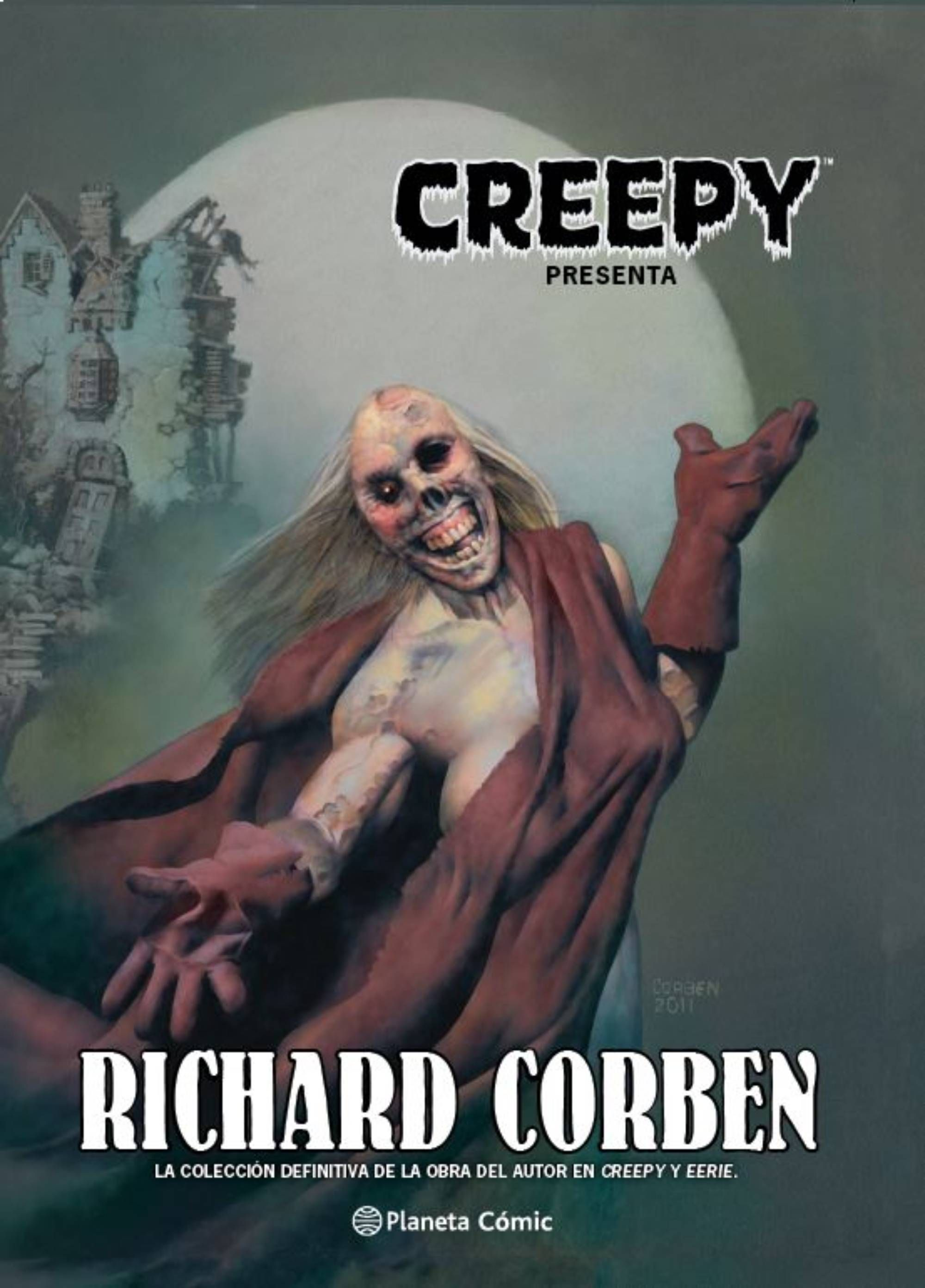 CREEPY RICHARD CORBEN NUEVA EDICION