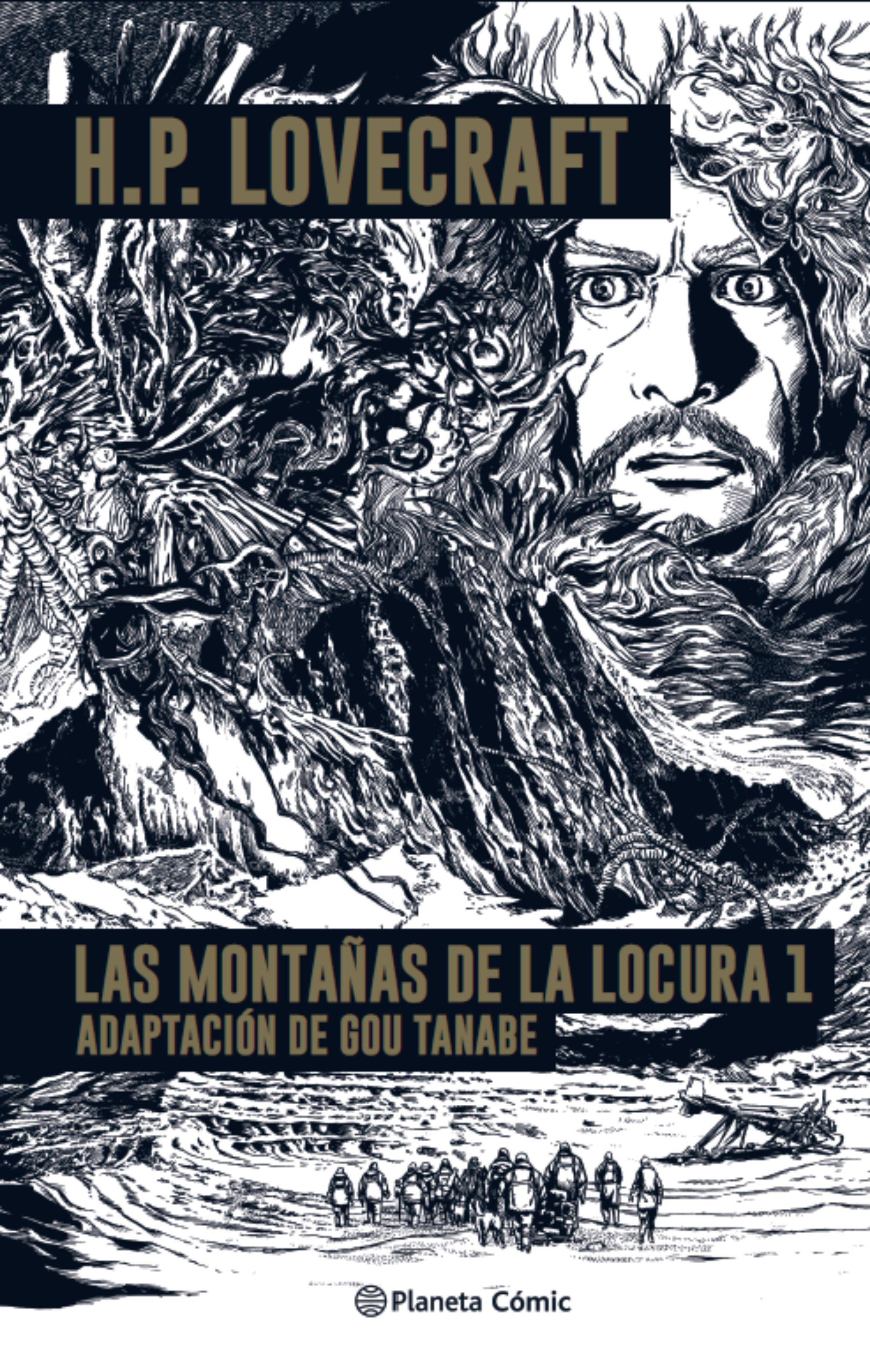MONTAÑAS DE LA LOCURA- LOVECRAFT Nº 01/02