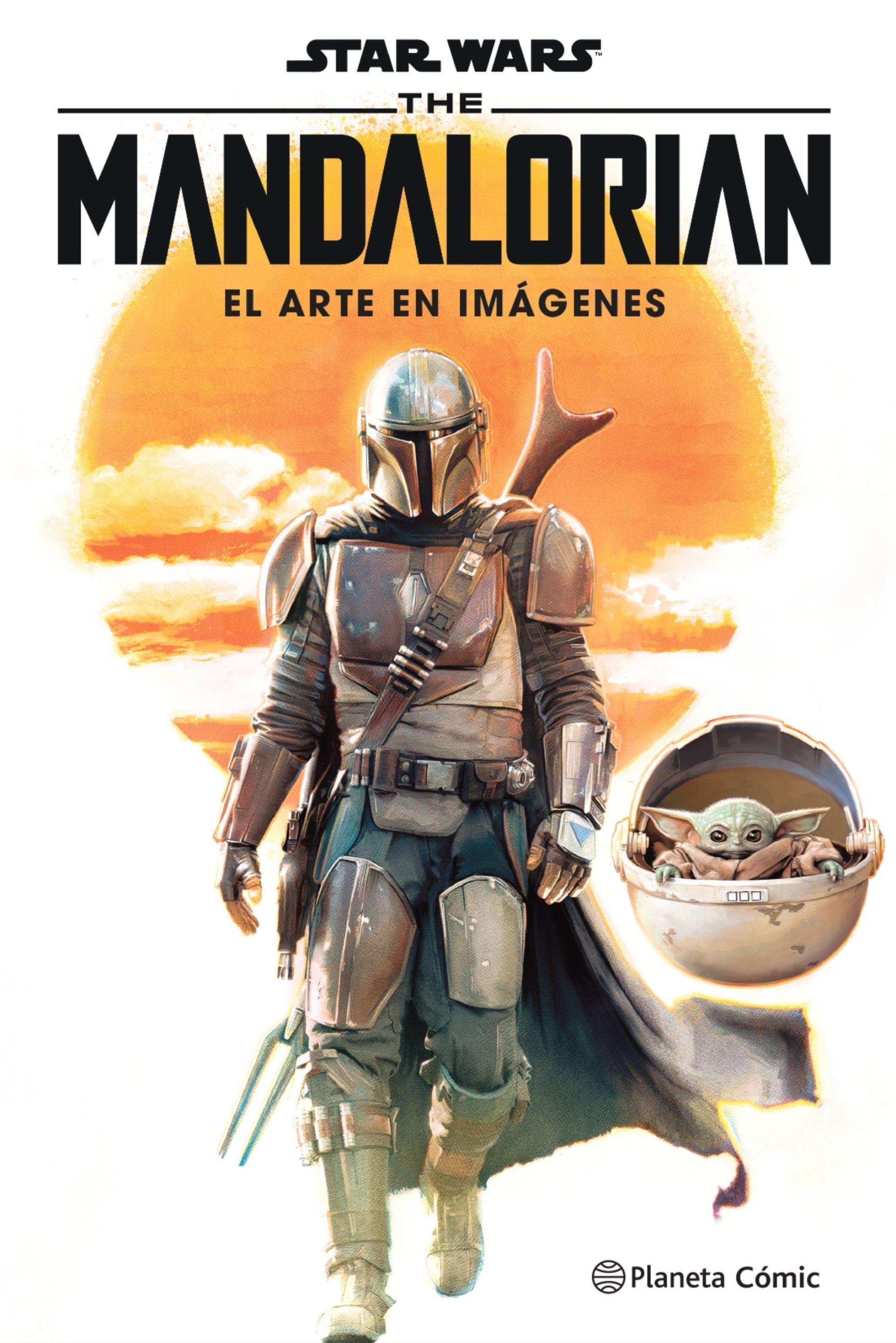 STAR WARS MANDALORIAN EL ARTE EN IMÁGENES