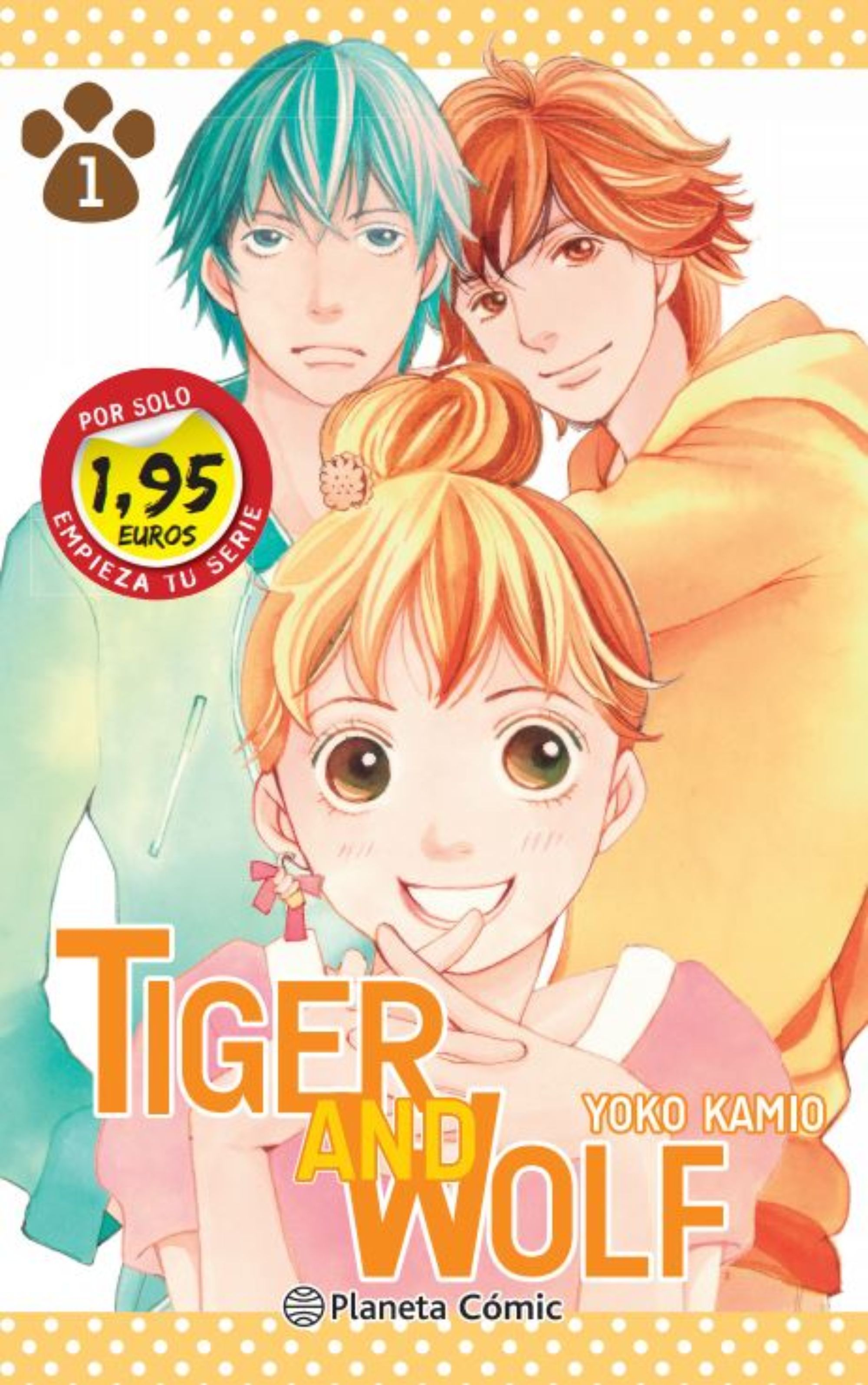 TIGER AND WOLF Nº 01 1,95