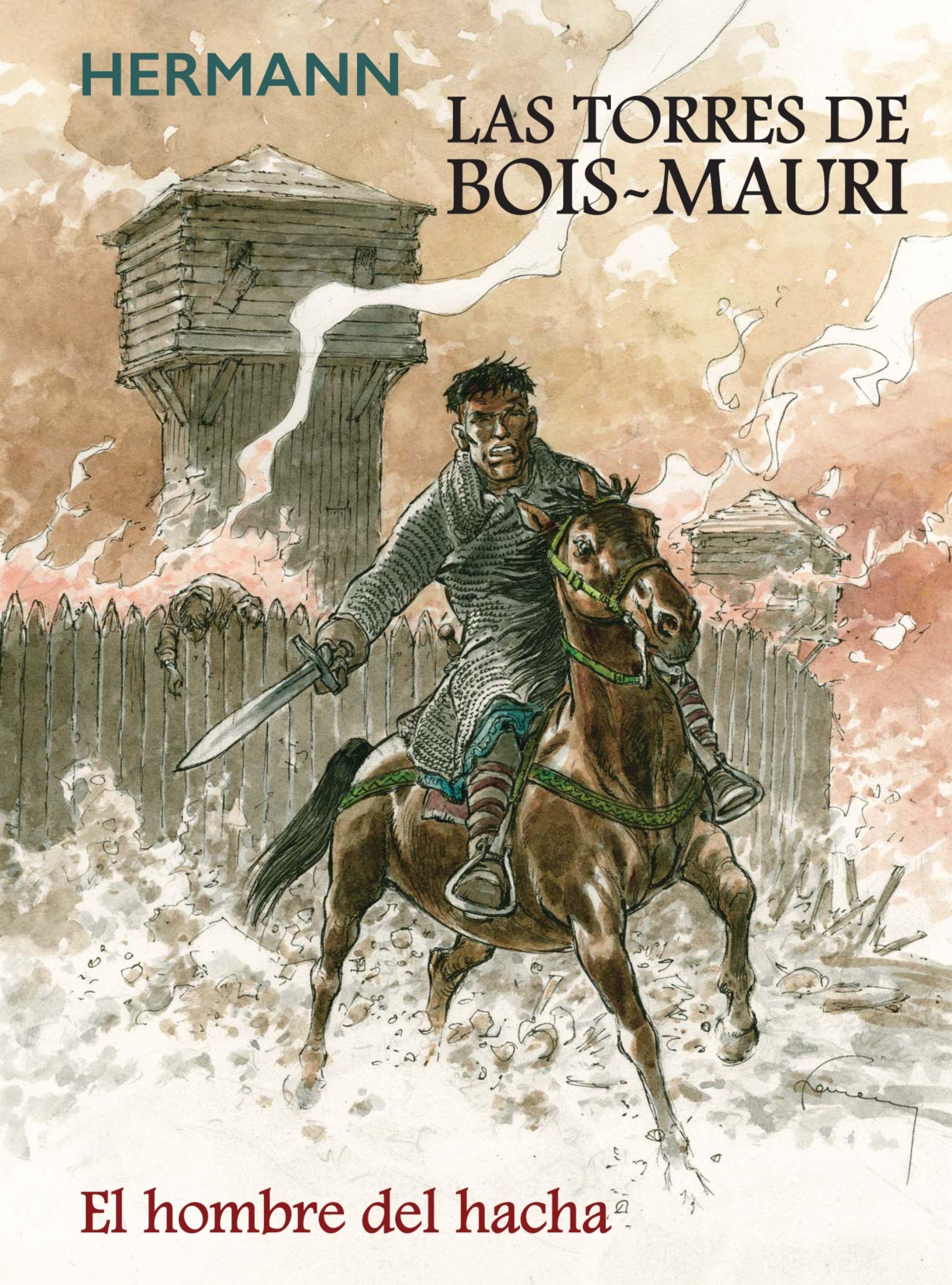 TORRES DE BOIS MAURI EL HOMBRE DEL HACHA LAS