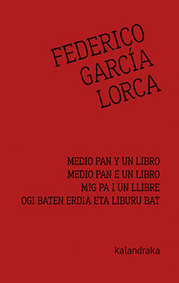 MEDIO PAN Y UN LIBRO - MIG PA I UN LLIBRE