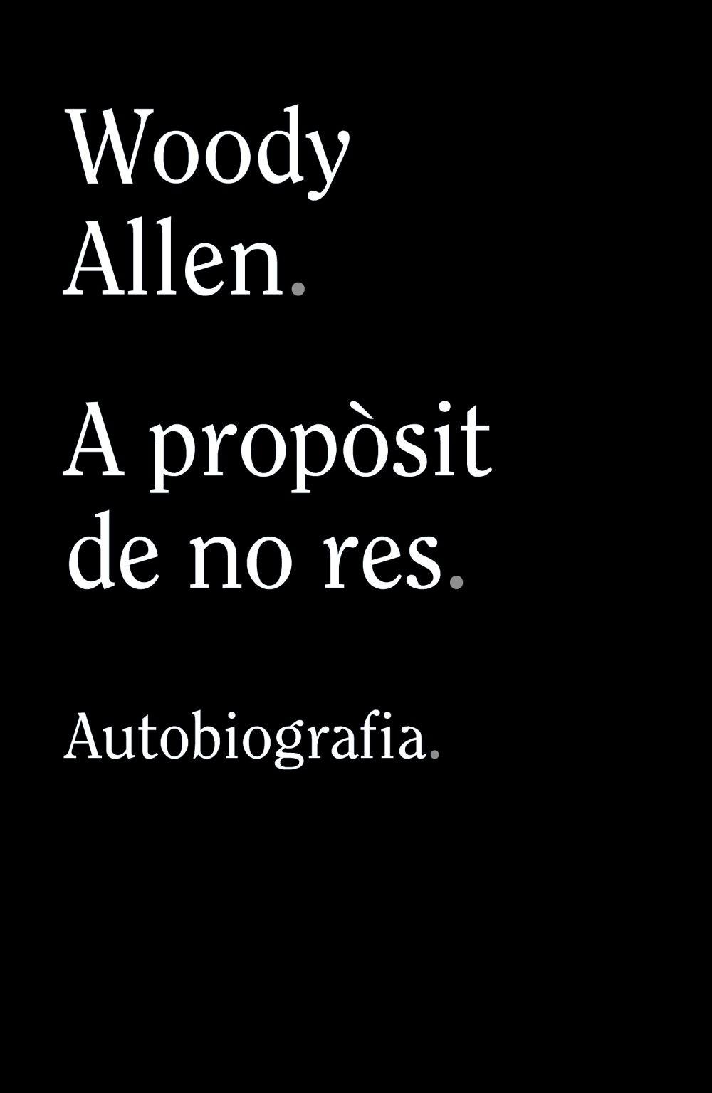 A PROPOSIT DE NO RES