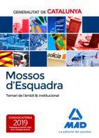 MOSSOS D`ESQUADRA. TEMARI DE L´AMBIT B: INSTITUCIONAL
