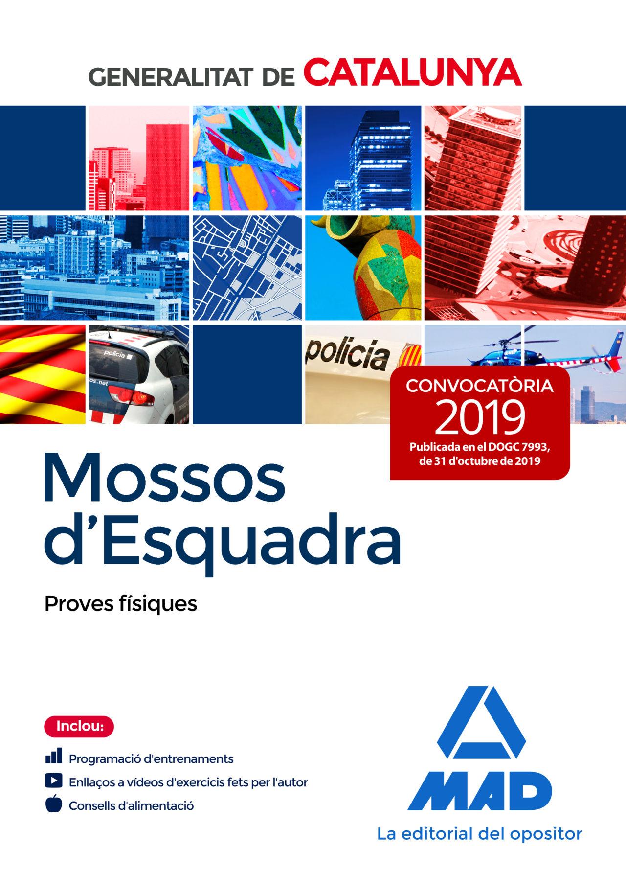 MOSSOS D`ESQUADRA PROVES FÍSIQUES