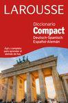 DICCIONARIO COMPACT ESPAÑOL ALEMAN DEUTSH SPANISCH
