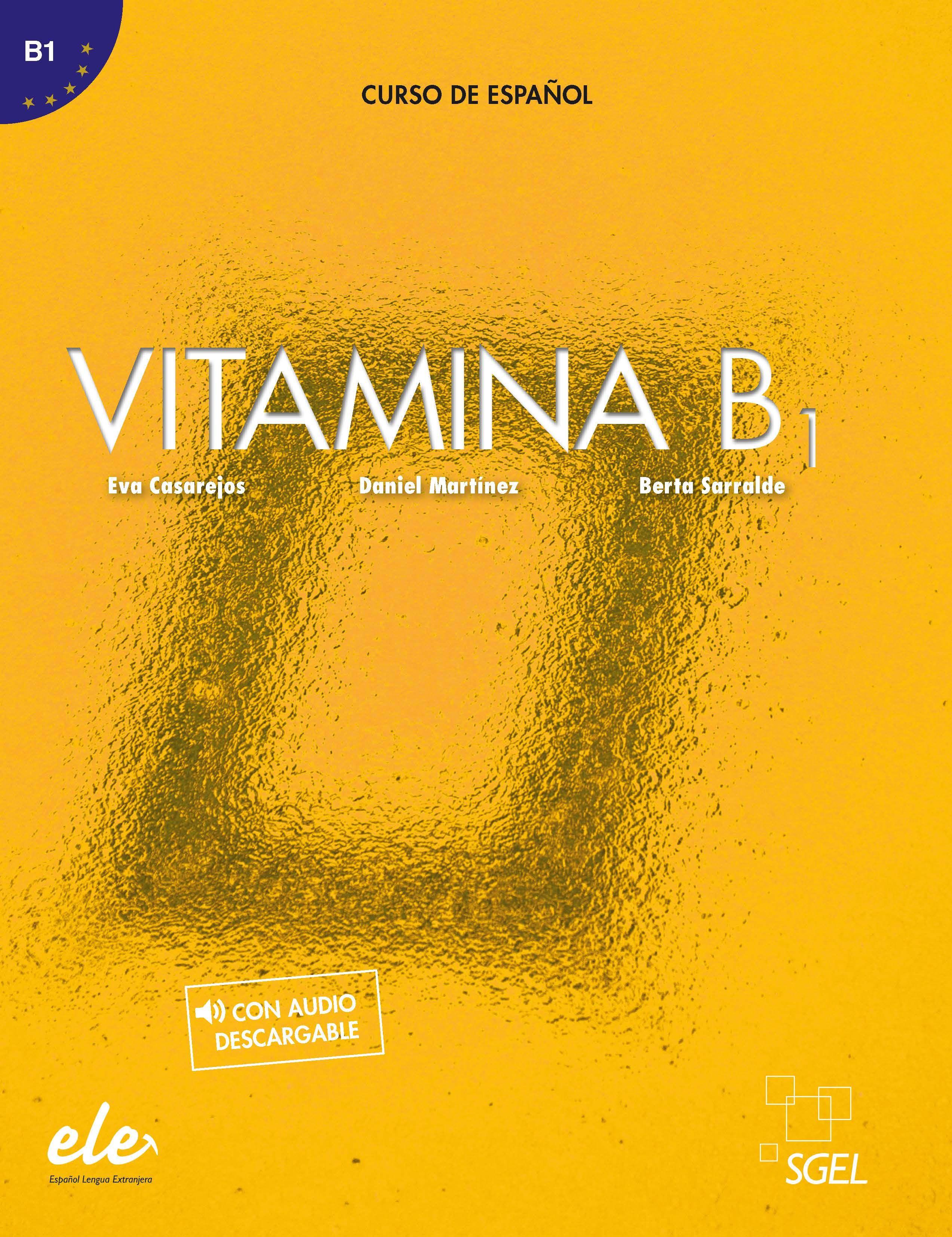 VITAMINA B1 LIBRO DEL ALUMNO + LICENCIA DIGITAL