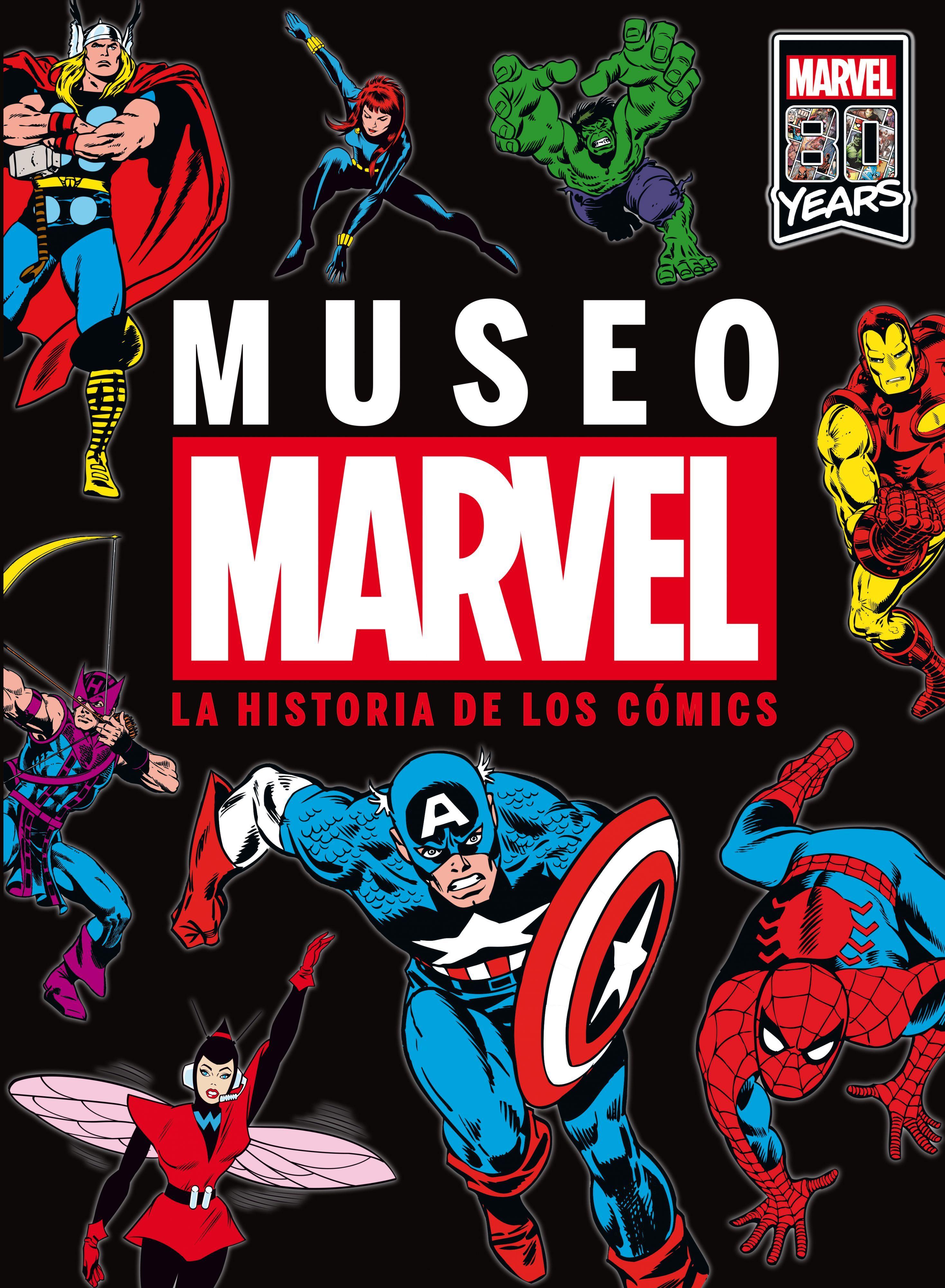 MUSEO MARVEL. LIBRO ILUSTRADO (PACK BOLSA TELA)