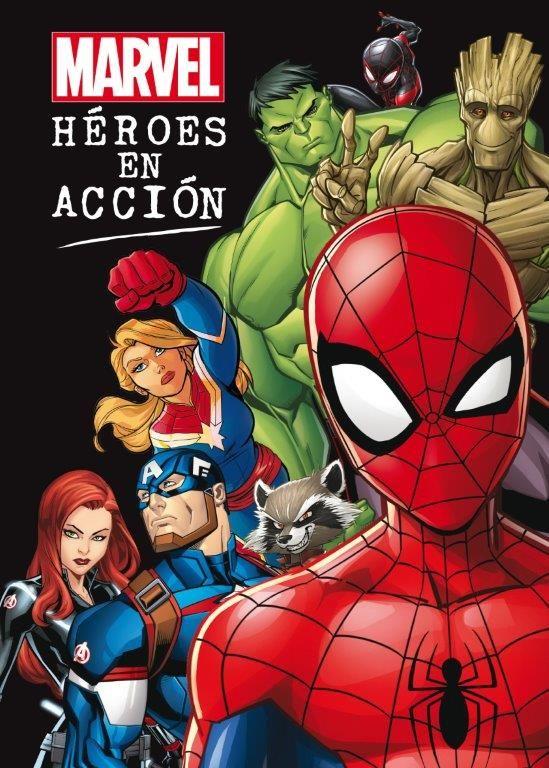 MARVEL HEROES EN ACCION