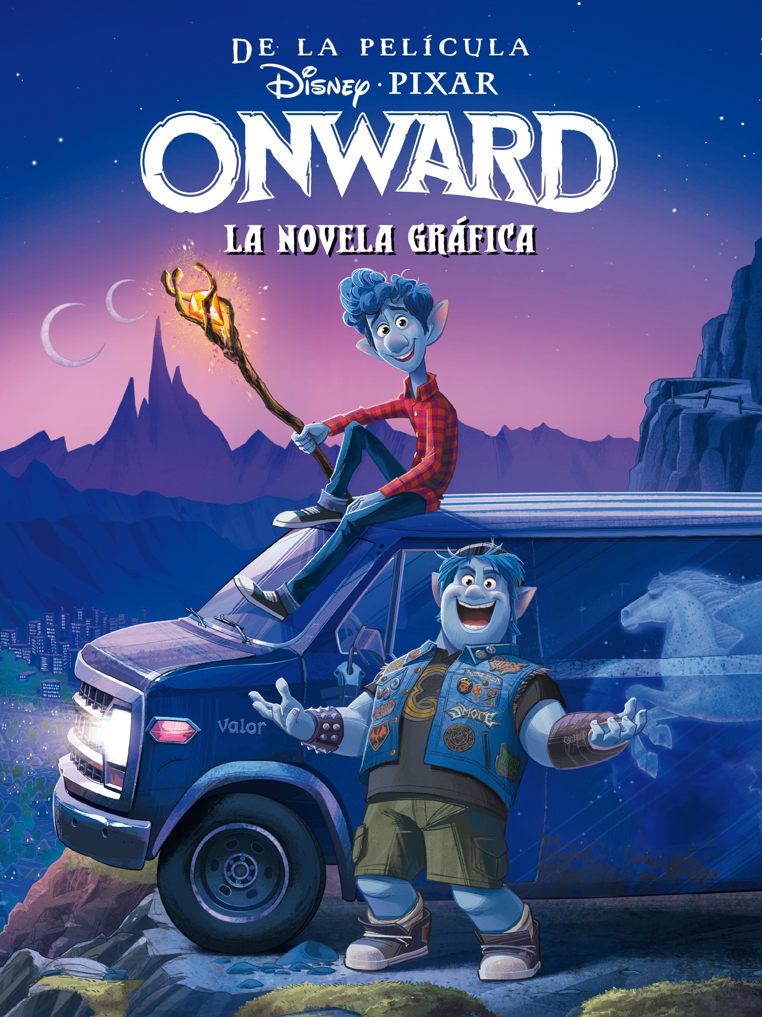 ONWARD LA NOVELA GRAFICA