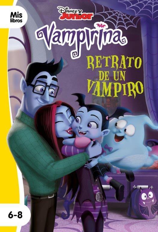 VAMPIRINA. RETRATO DE UN VAMPIRO. NARRATIVA AMARILLA