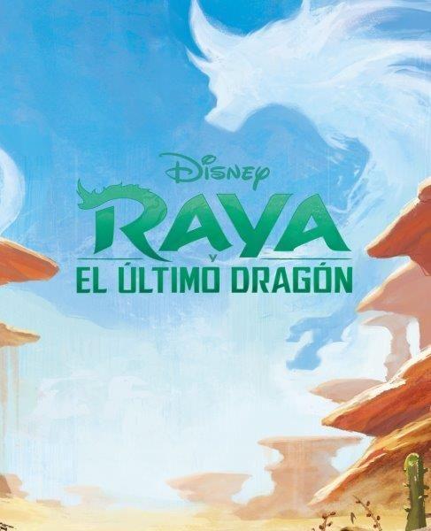 RAYA Y EL ULTIMO DRAGON LIBROAVENTURAS