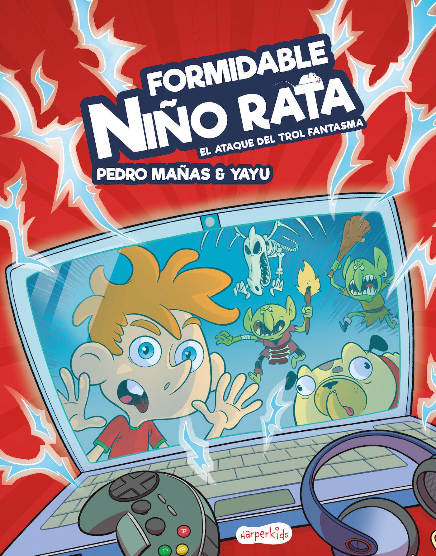 FORMIDABLE NIÑO RATA 1 EL ATAQUE DEL TROL FANTASMA