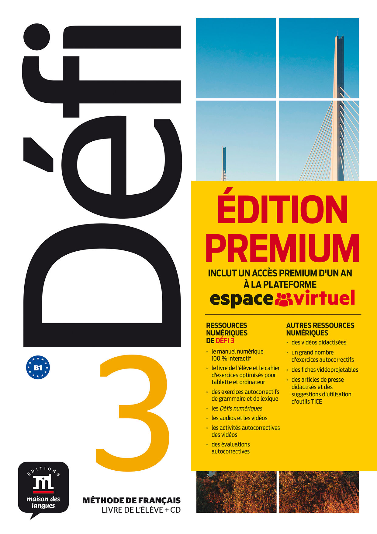 DÉFI 3 - LIVRE DE L'ÉLÈVE . B1