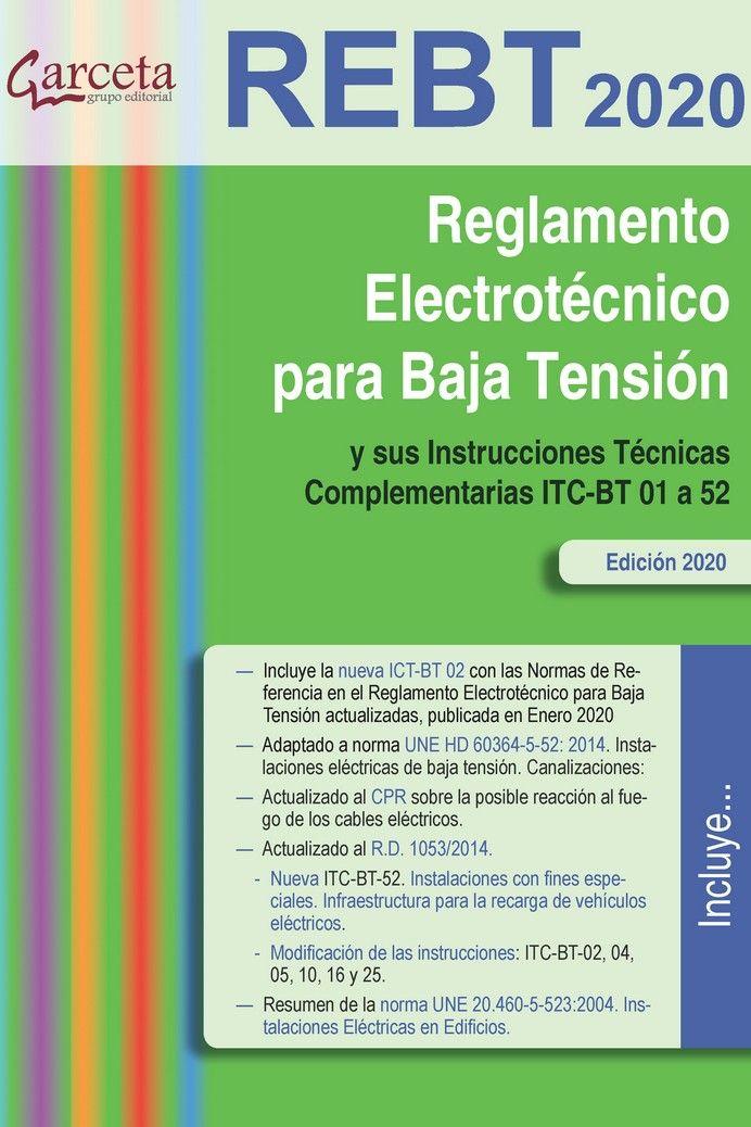 RBT 2020 REGLAMENTO ELECTRONICO PARA BAJA TENSION