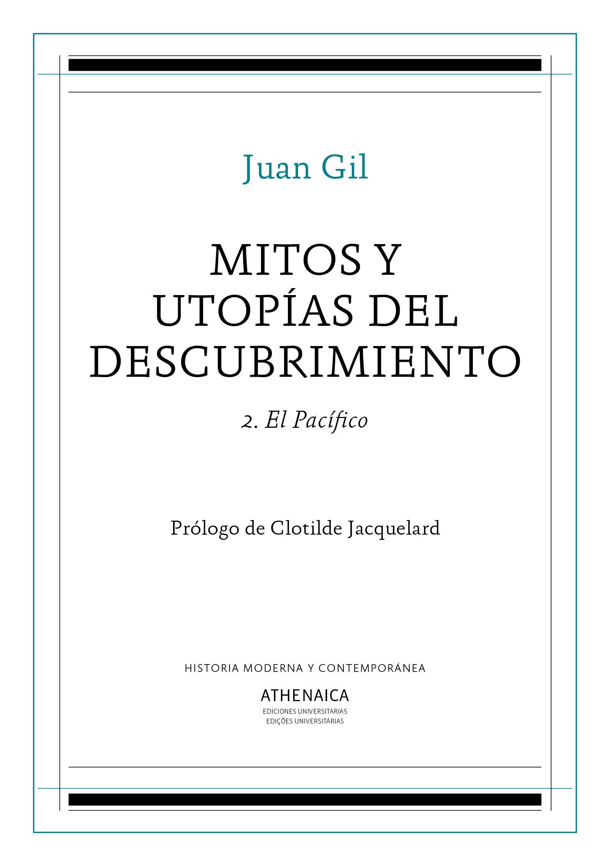 MITOS Y UTOPIAS DEL DESCUBRIMIENTO 2 EL PACIFICO