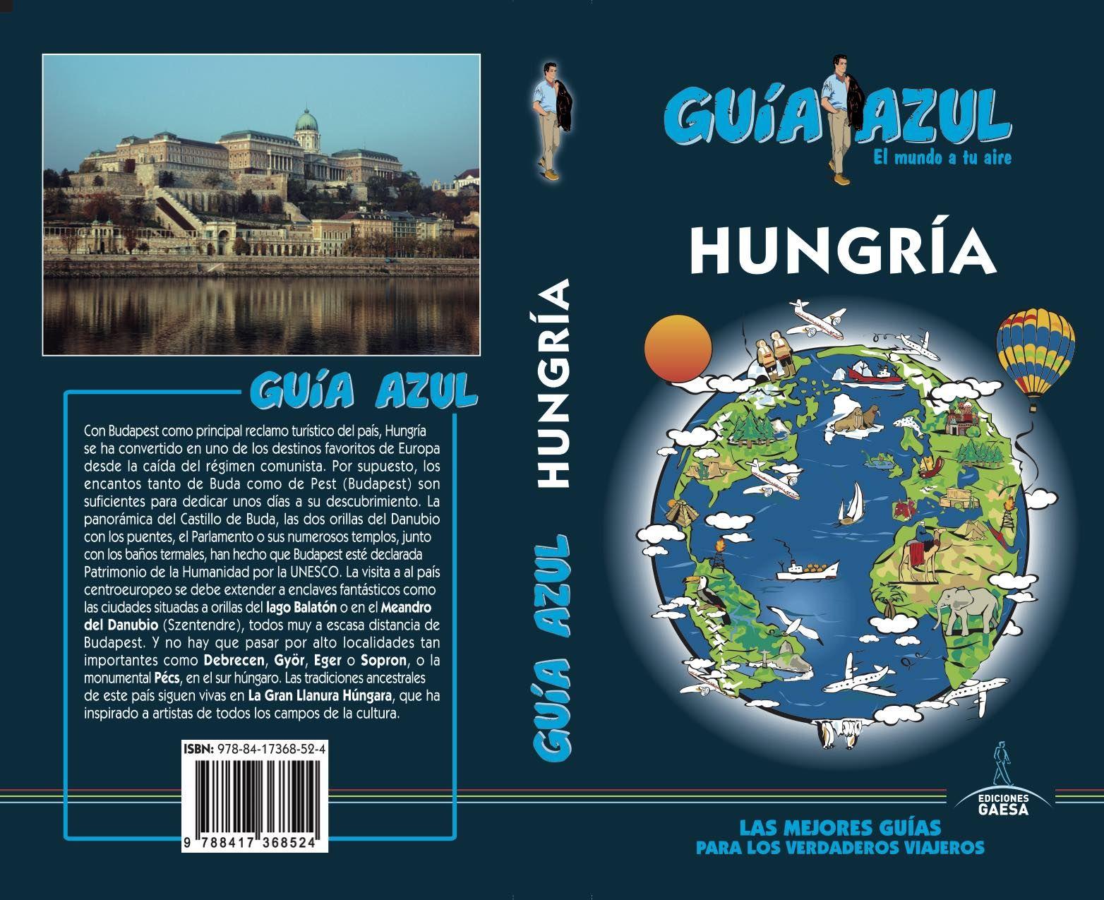 HUNGRIA GUIA AZUL