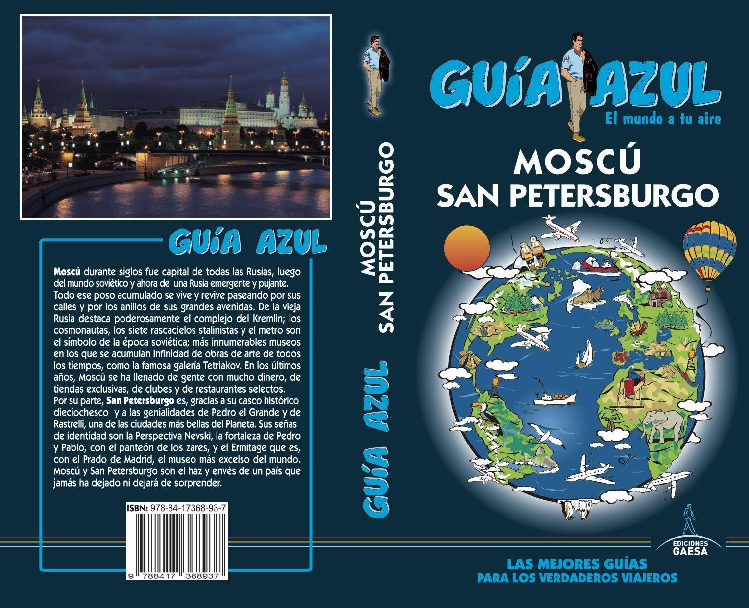 MOSCÚ Y SAN PETERSBRUGO GUIA AZUL