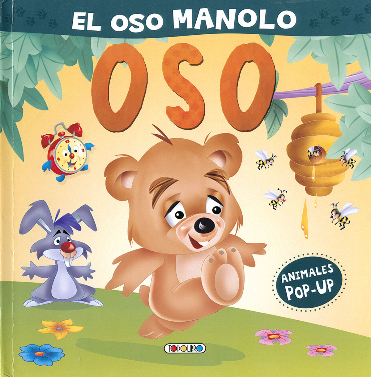 OSOS MANOLO EL (ANIMALES POP UP)