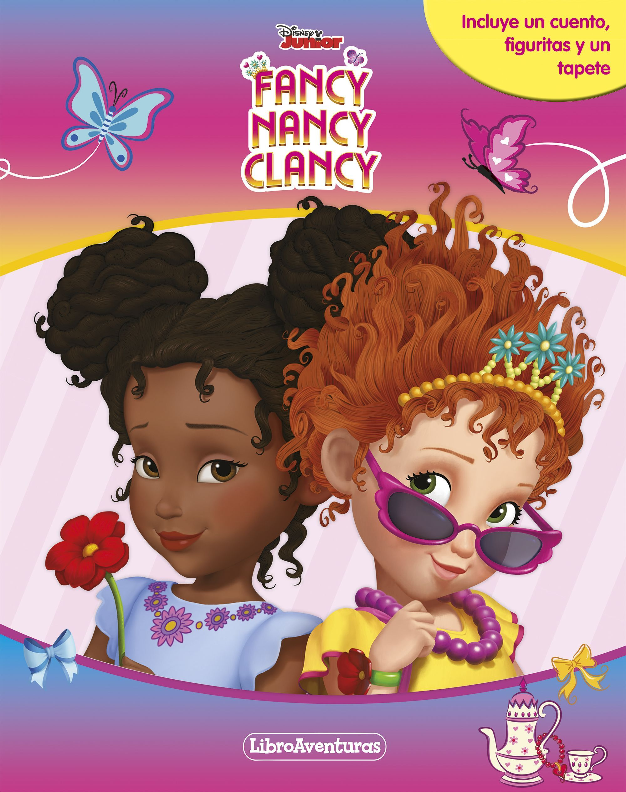 FANCY NANCY CLANCY LIBROAVENTURAS