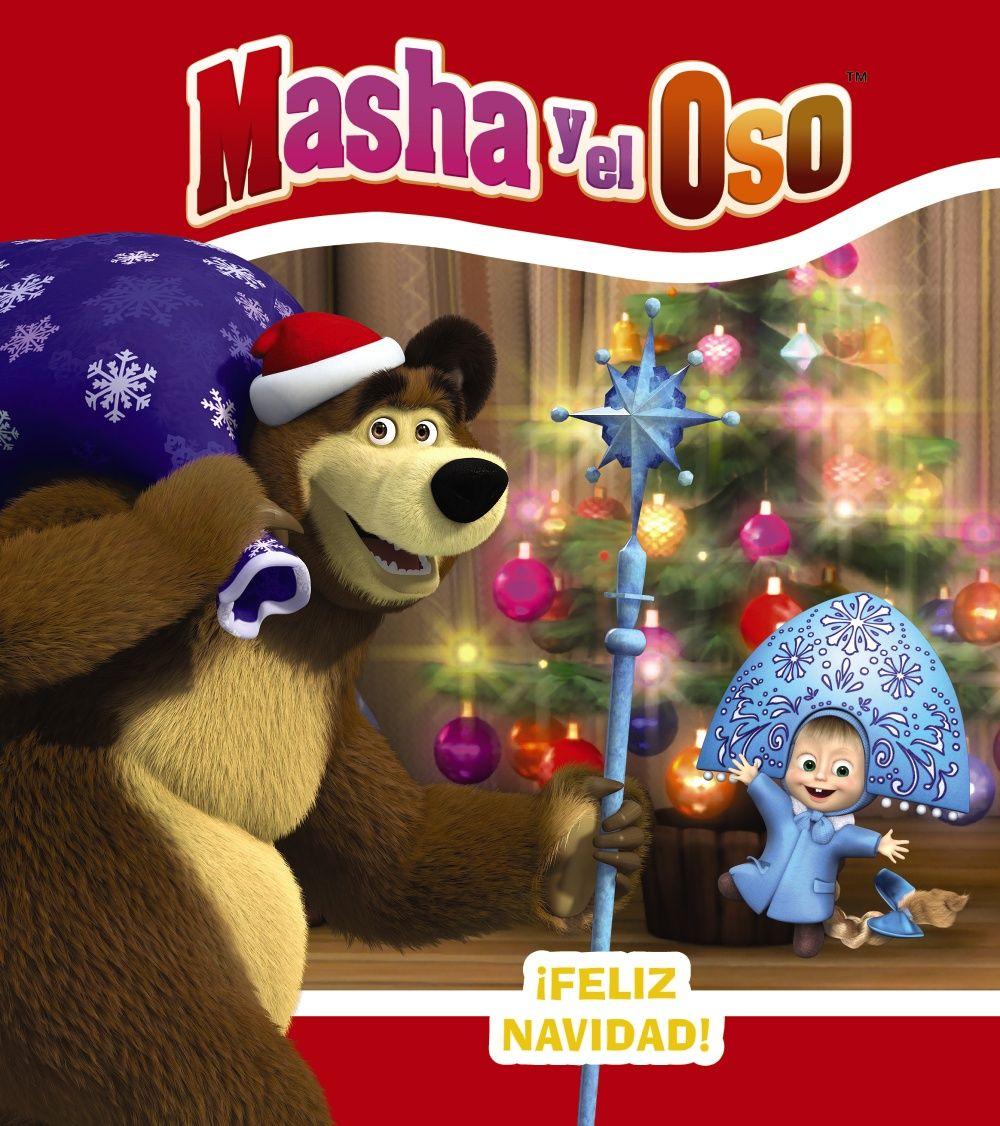 MASHA Y EL OSO FELIZ NAVIDAD!