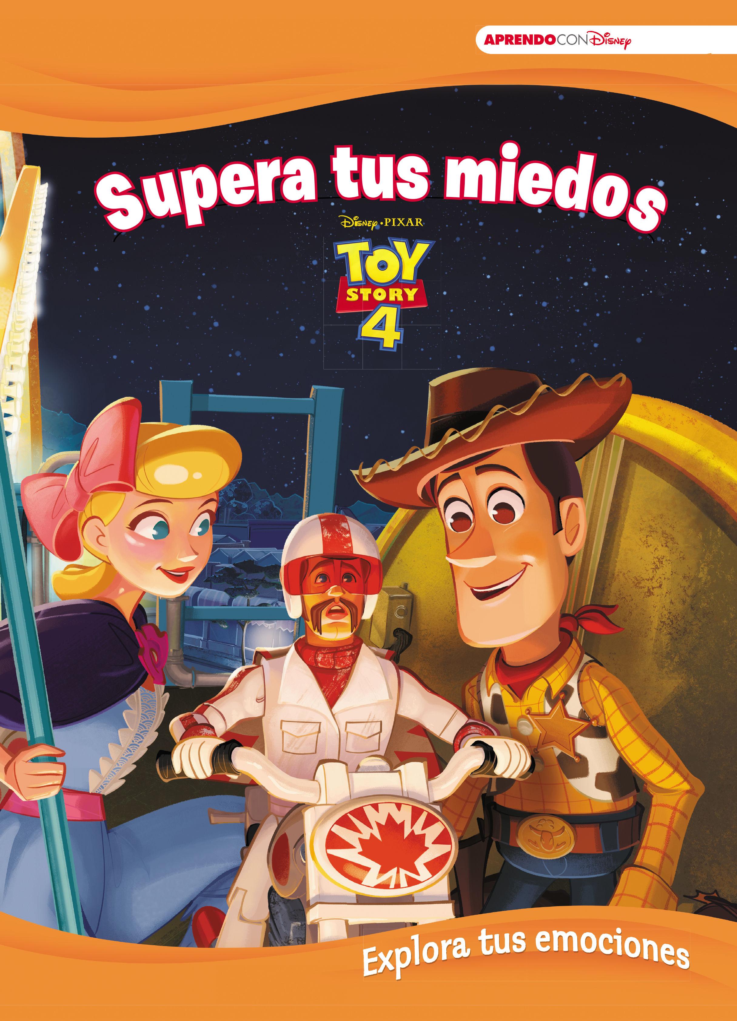 TOY STORY 4 SUPERA TUS MIEDOS