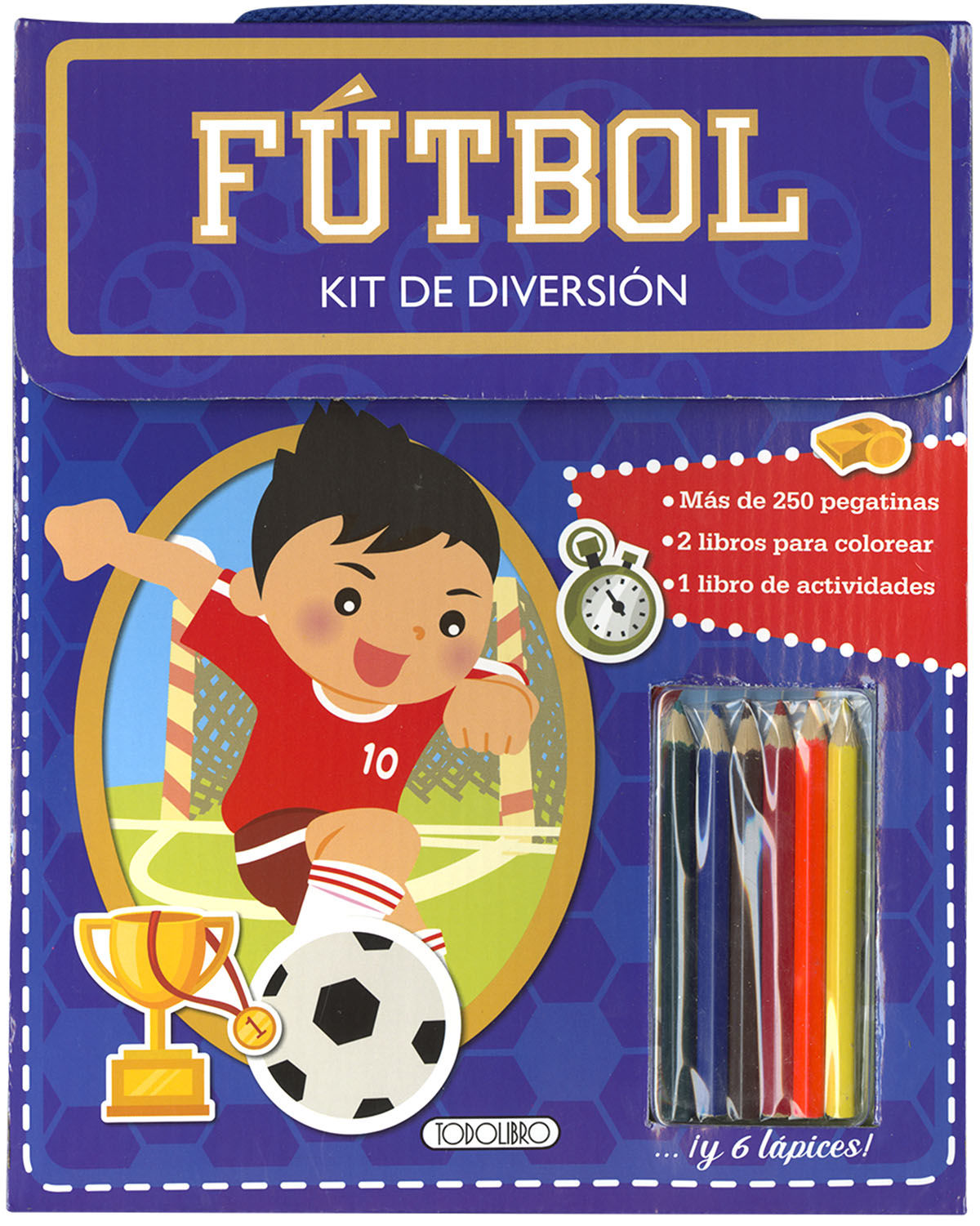 FUTBOL KIT DE DIVERSION