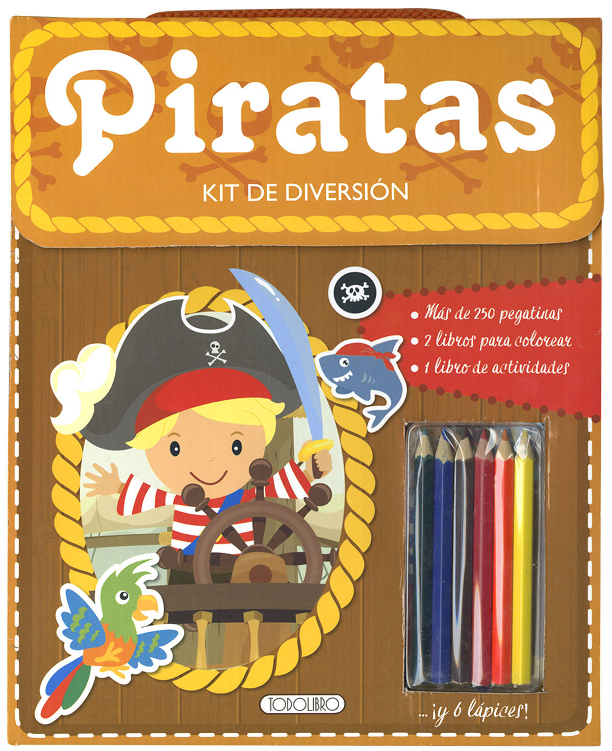 PIRATAS KIT DE DIVERSION