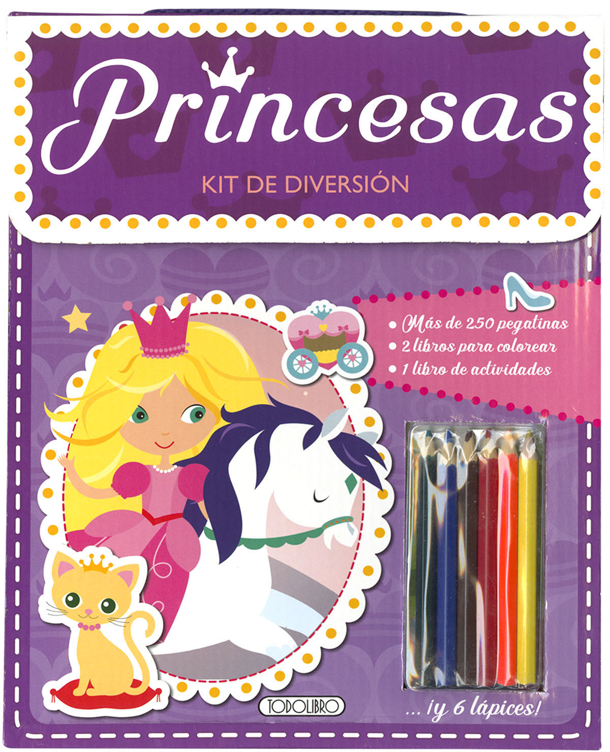 PRINCESAS KIT DE DIVERSION