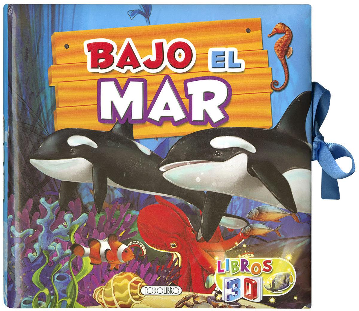 BAJO EL MAR LIBROS 3D