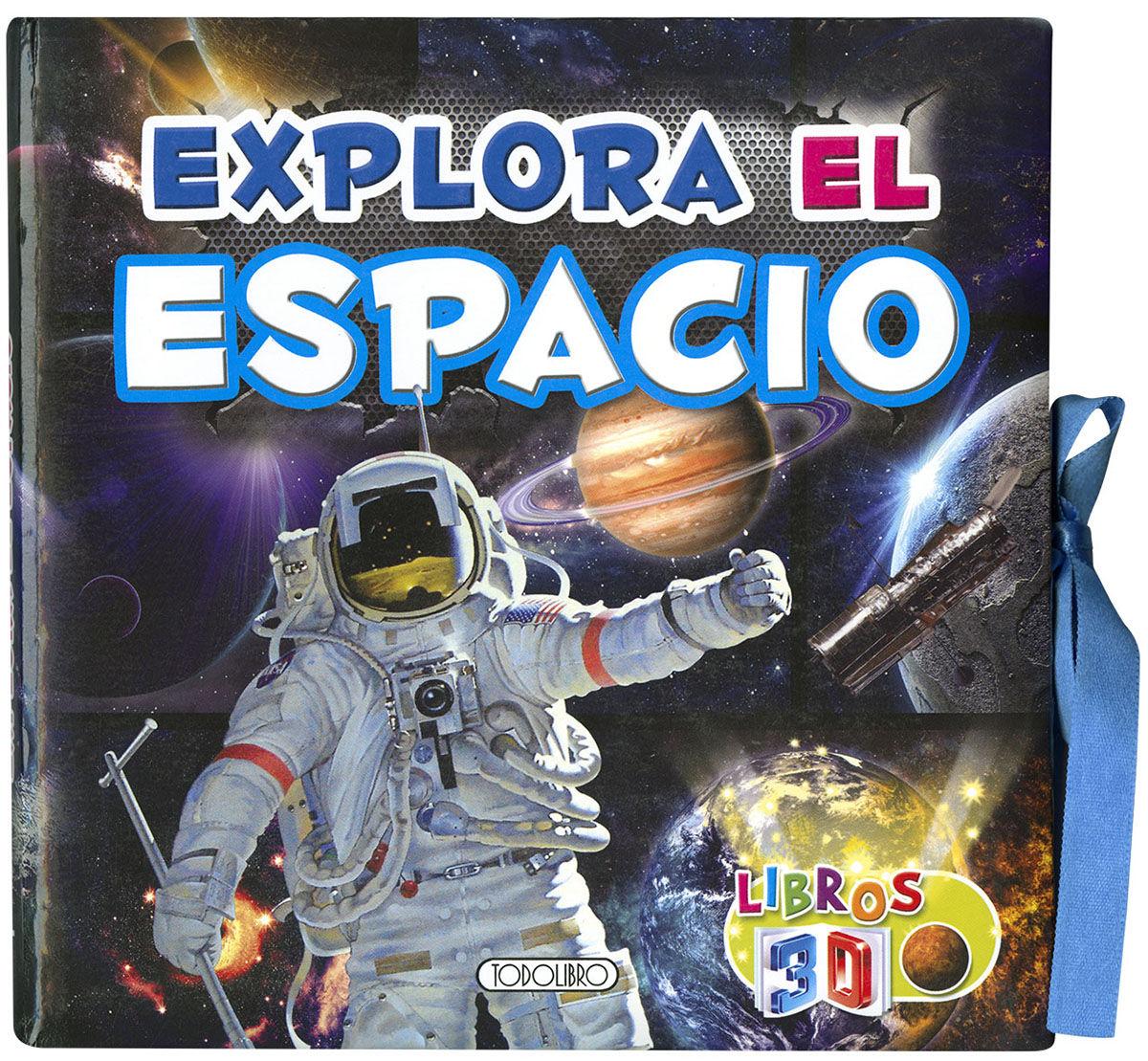 EXPLORA EL ESPACIO LIBROS 3D