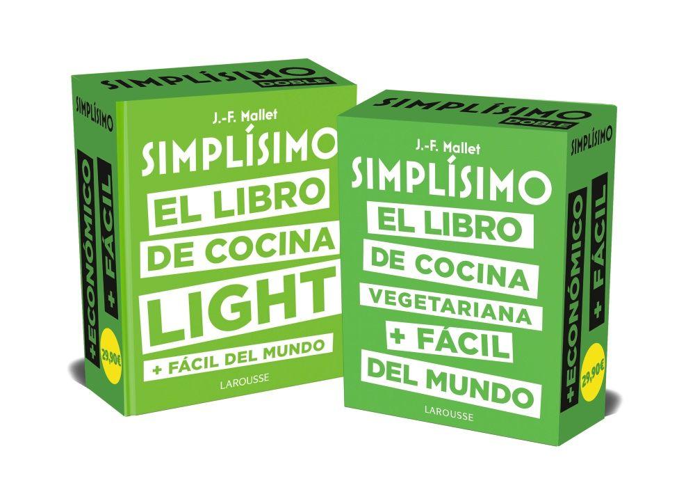 SIMPLISIMO DOBLE LOS LIBROS DE COCINA SANA + FACILES DEL MUNDO