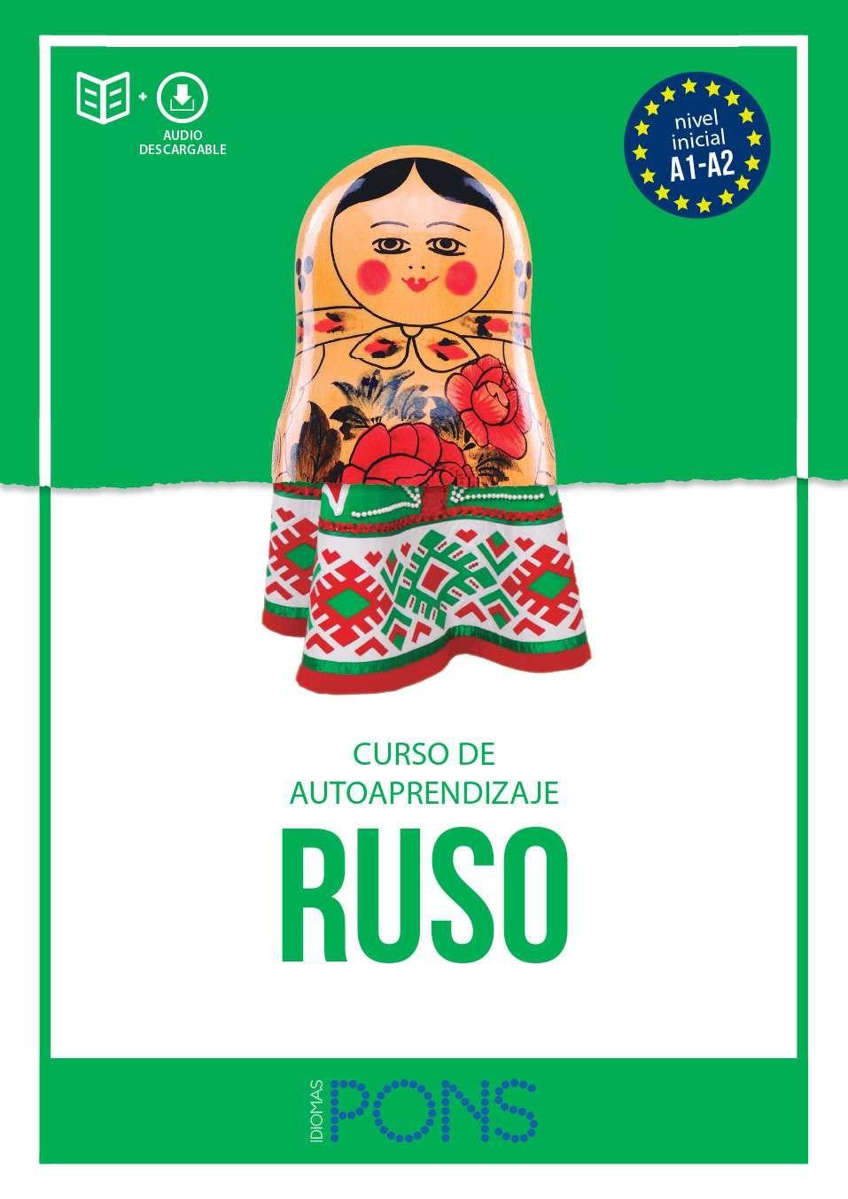 RUSO CURSO DE AUTOAPRENDIZAJE IDIOMAS PONS