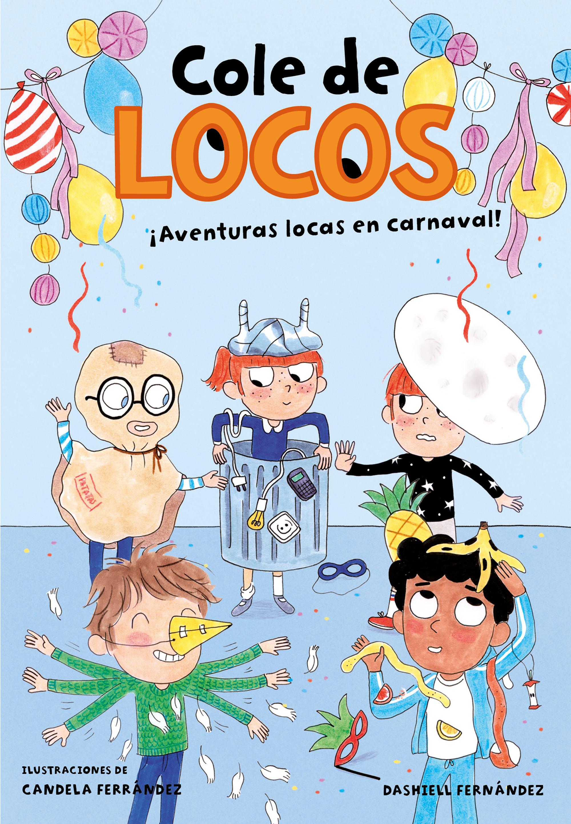 COLE DE LOCOS 5 AVENTURAS LOCAS EN CARNAVAL