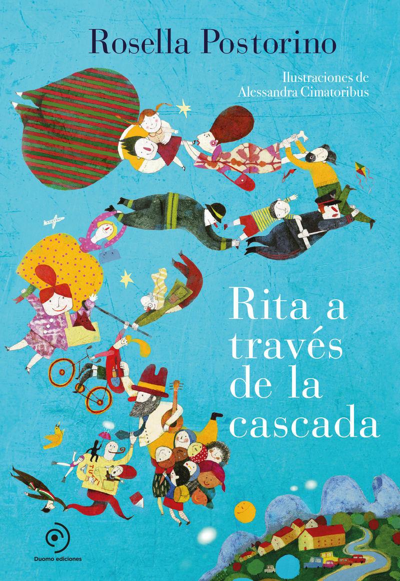 RITA A TRAVES DE LA CASCADA