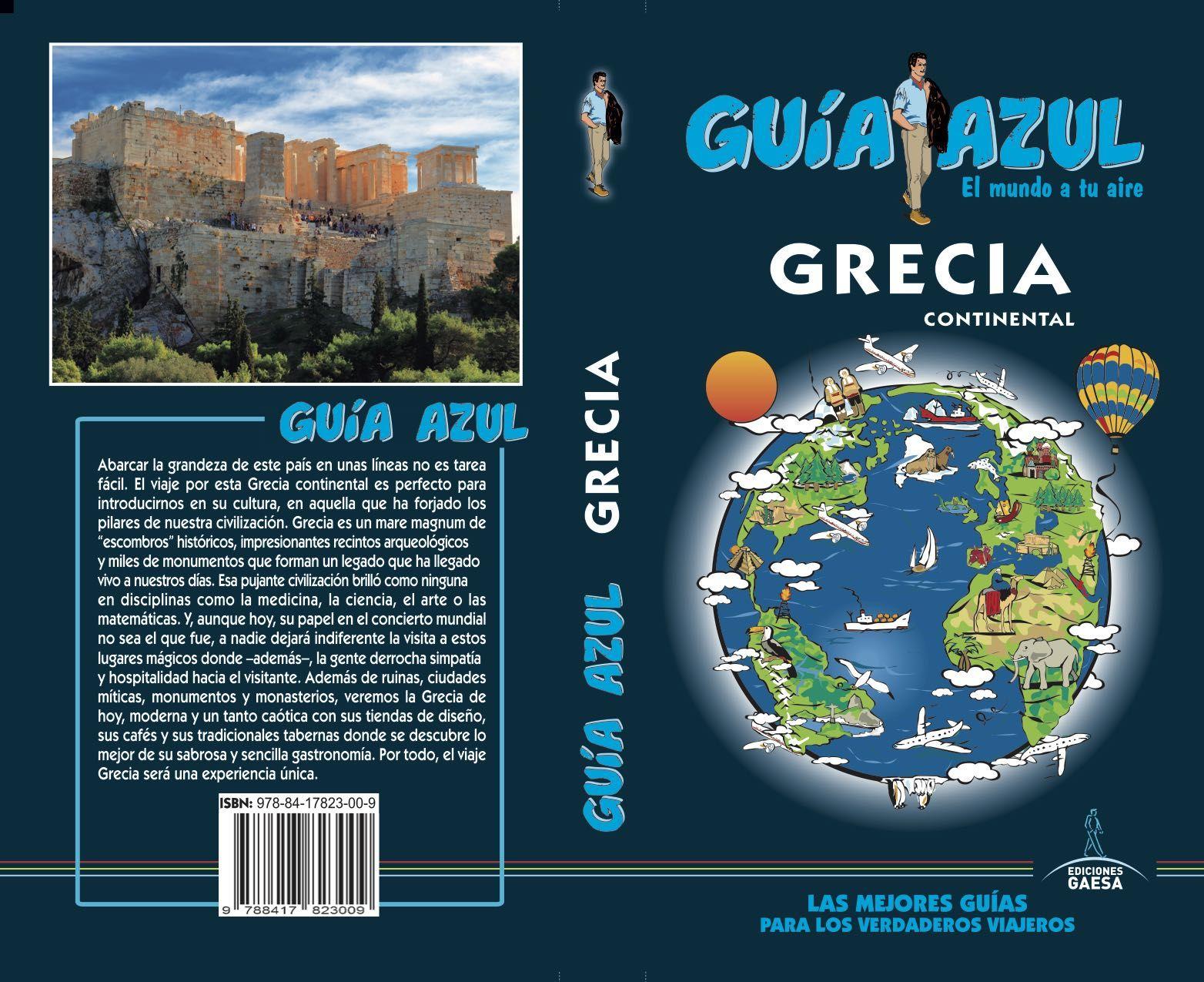 GRECIA GUIA AZUL