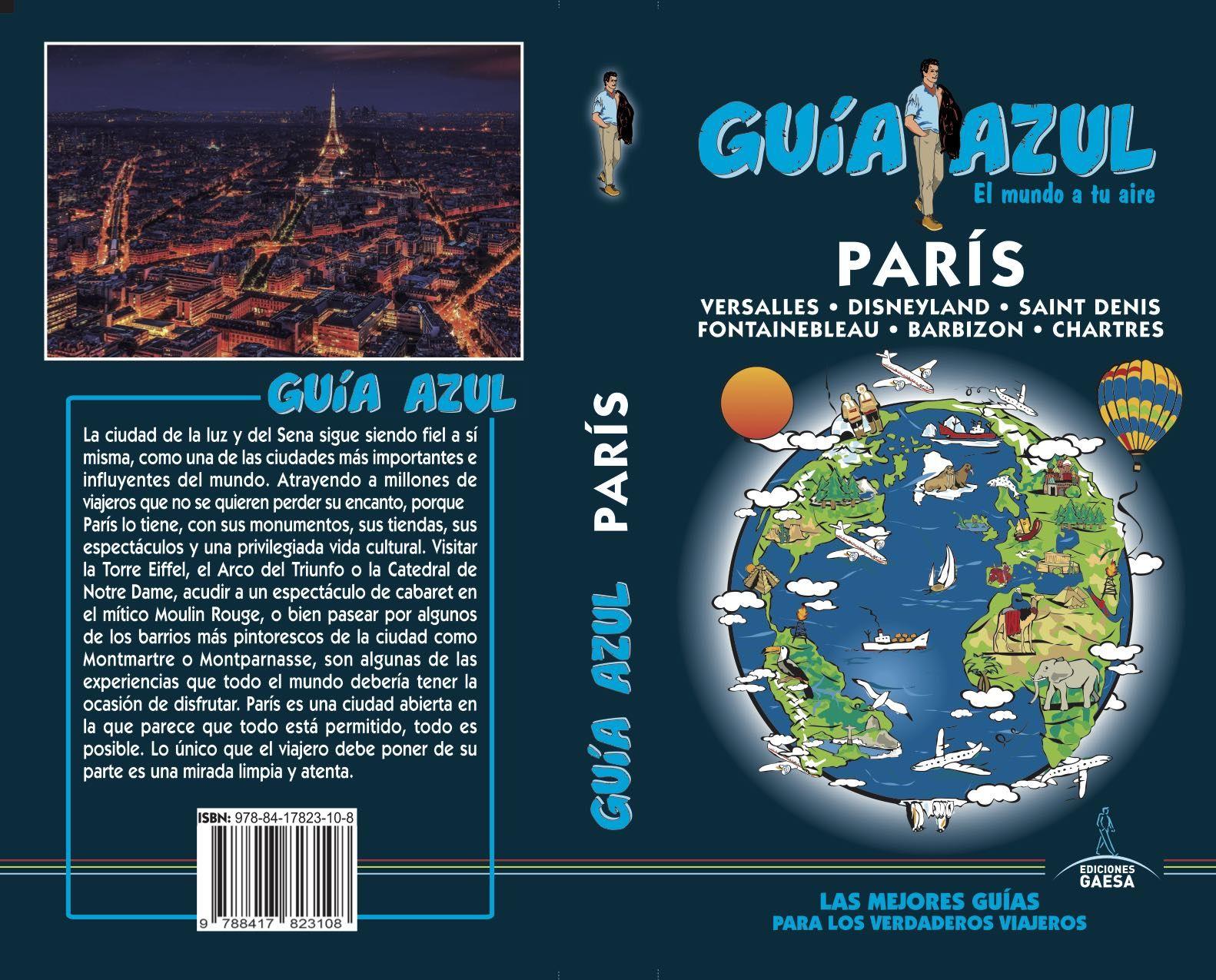 PARIS GUIA AZUL