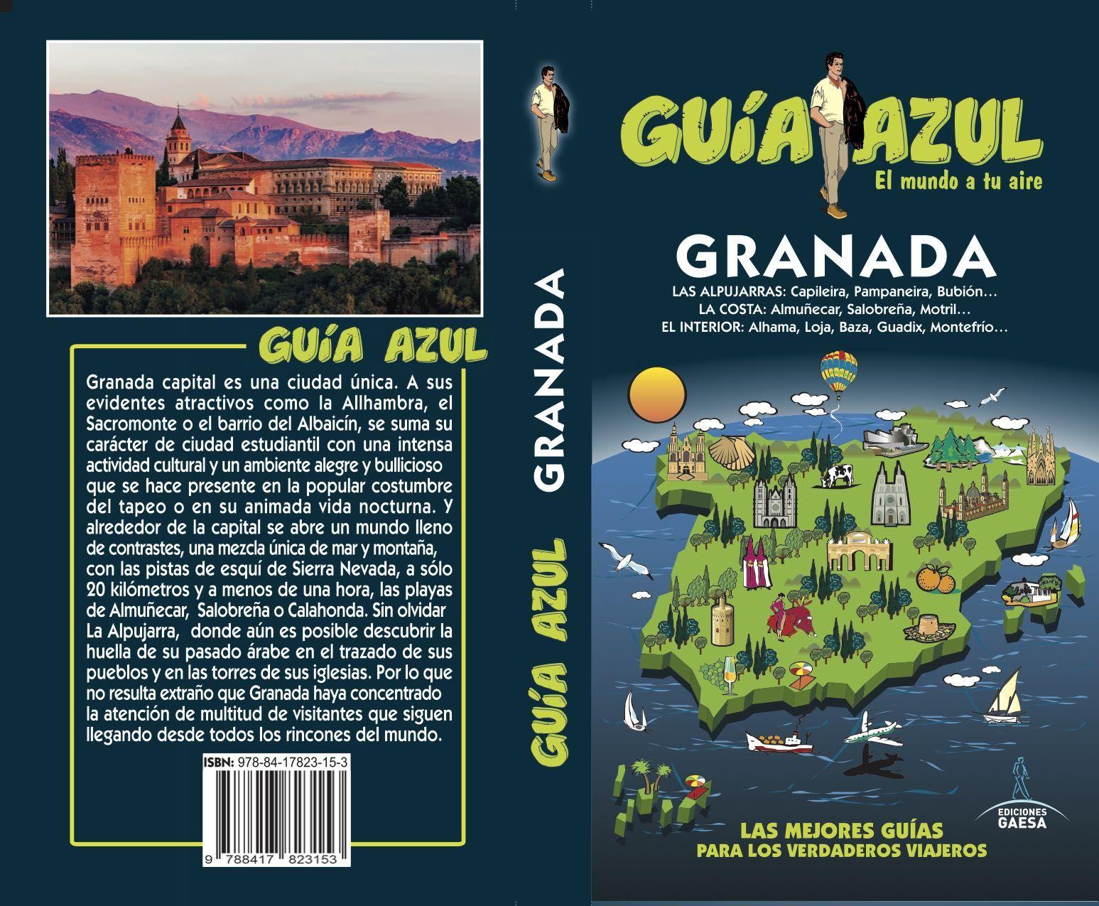 GRANADA GUIA AZUL