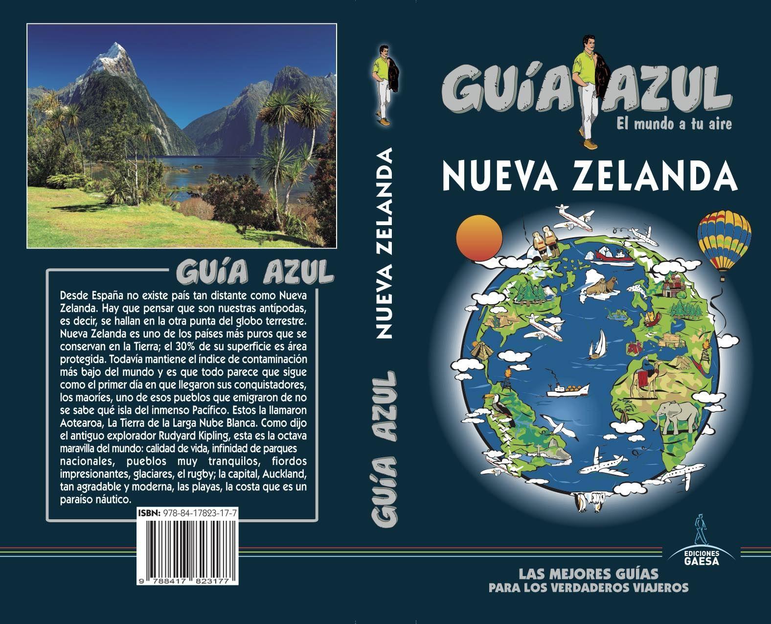 NUEVA ZELANDA GUIA AZUL