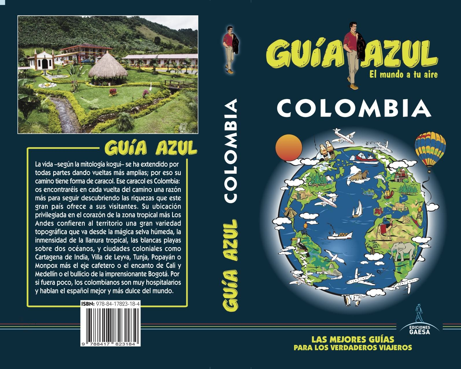 COLOMBIA GUIA AZUL