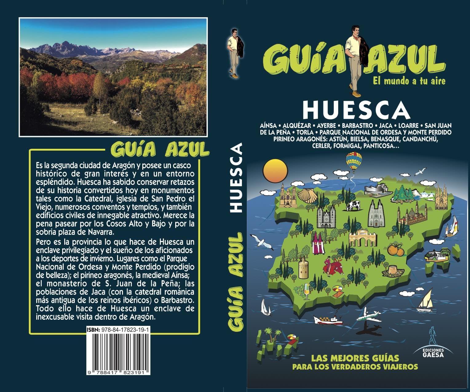 HUESCA GUIA AZUL