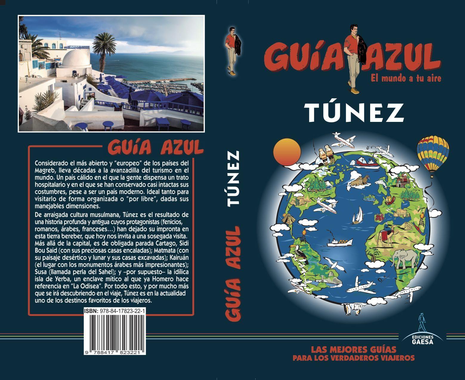 TÚNEZ GUIA AZUL