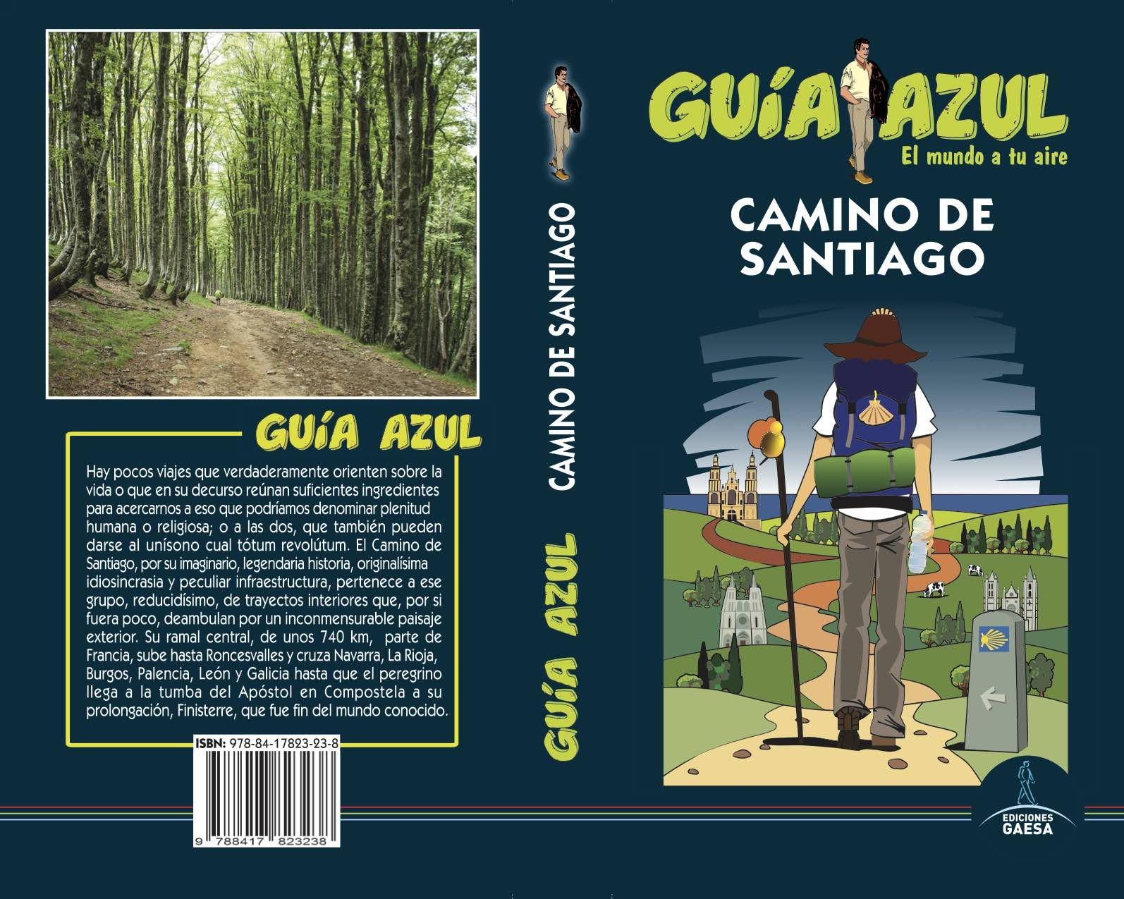 CAMINO DE SANTIAGO GUIA AZUL