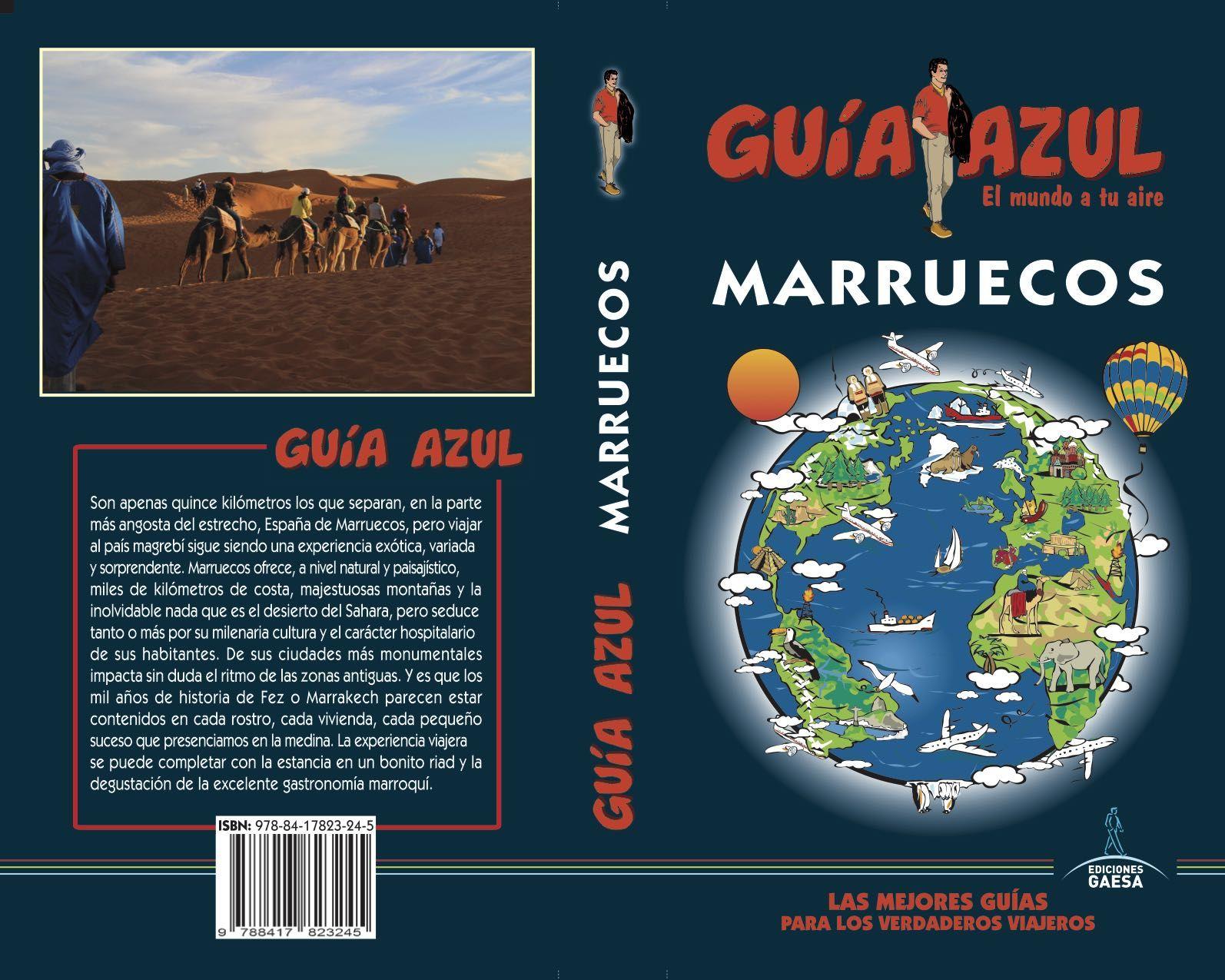 MARRUECOS GUIA AZUL