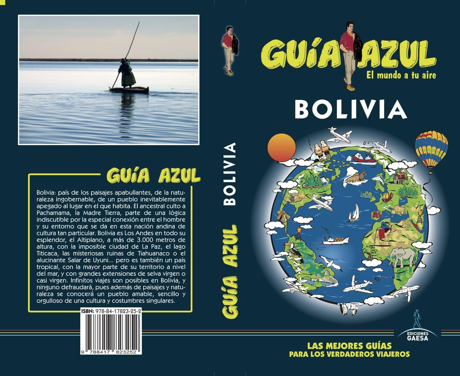 BOLIVIA GUIA AZUL