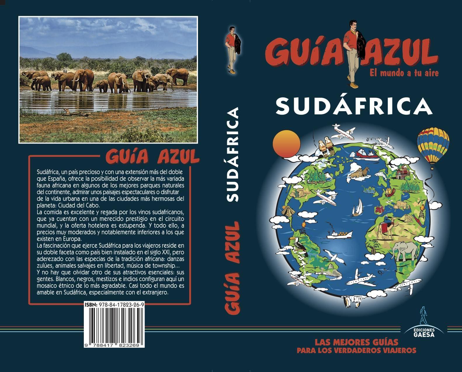 SUDÁFRICA GUIA AZUL