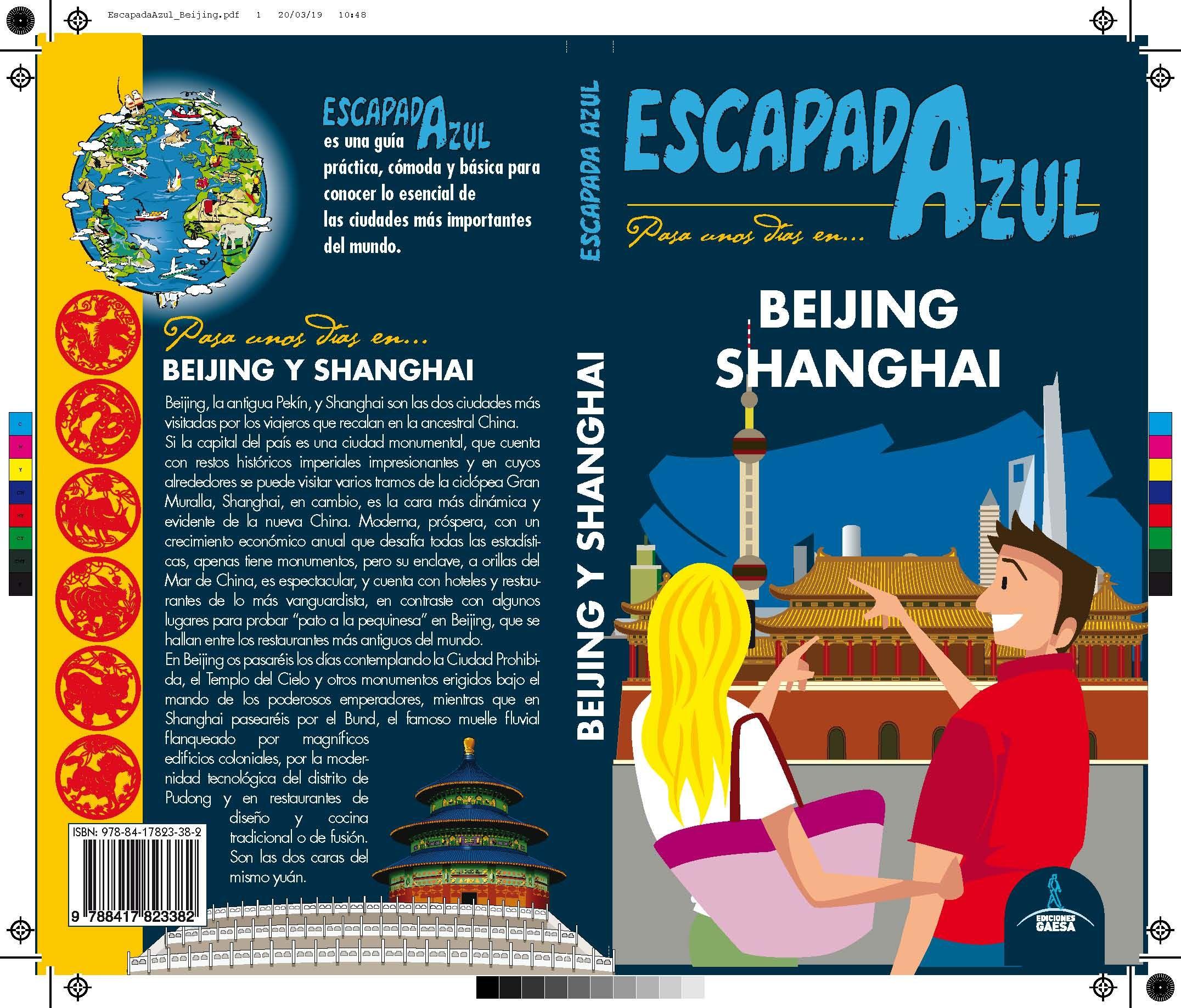 BEIJING,SHANGHAI ESCAPADA AZUL
