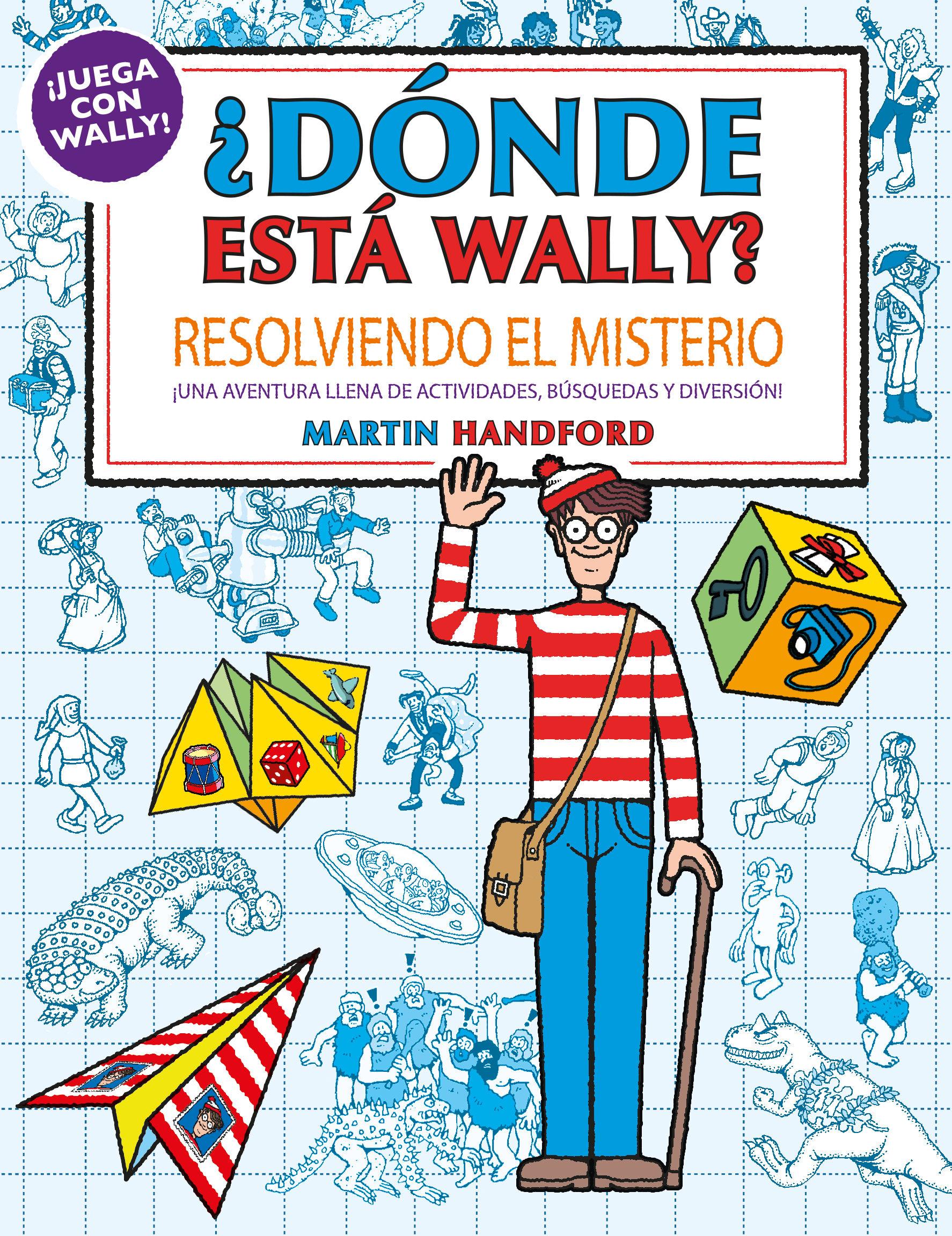 DONDE ESTA WALLY RESOLVIENDO EL MISTERIO