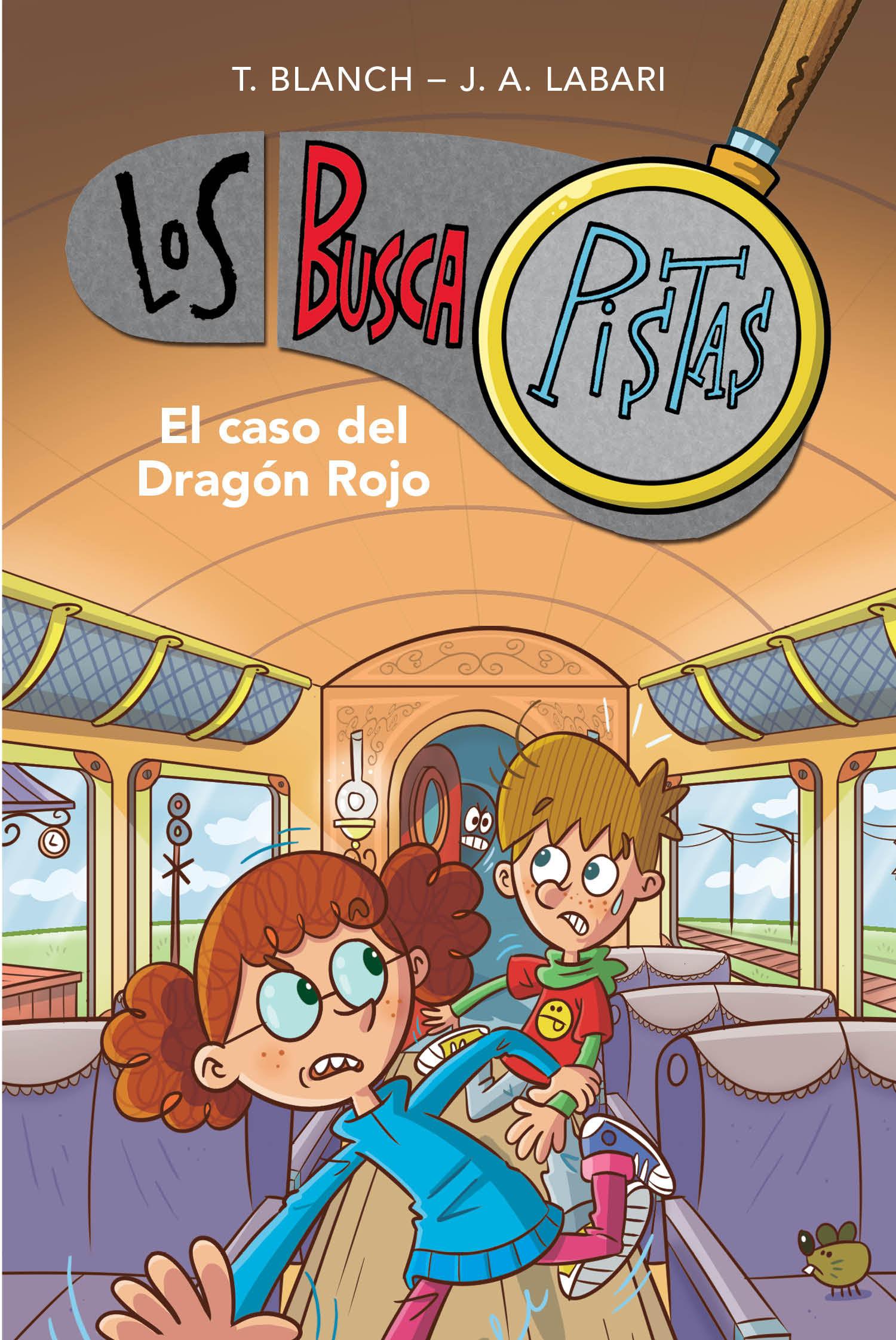 BUSCAPISTAS 11 EL CASO DEL DRAGON ROJO